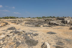 Old tombs in Kyrenia stock images