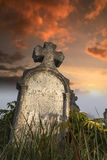 Rubbed tombstone Royalty Free Stock Photos