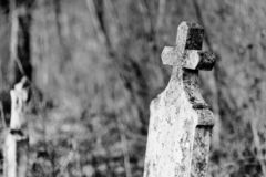 Old tombstone royalty free stock images