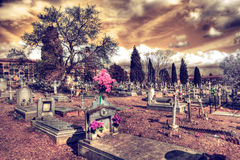 Old tombstone. Christian religion culture Stock Photography