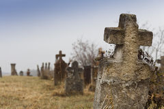 Old tombstones Stock Image