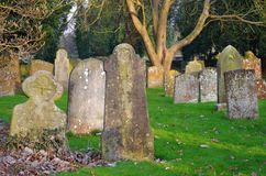 Old tombstones Royalty Free Stock Image