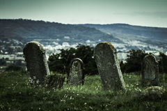 Old tombstones Stock Photography