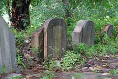 Old tombstones and graveyards Royalty Free Stock Photography