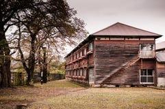 Old Tomioka Silk Mill, Takasaki, Gunma, Japan stock image