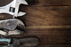Old tool renovation Royalty Free Stock Photo