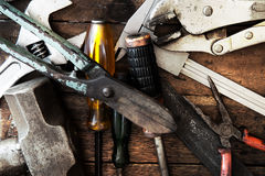 Old tool renovation Royalty Free Stock Photography