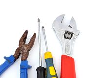 Old Tool set Stock Images