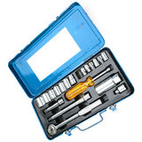 An Old Tool Set. With various sized wrench endings and a screwdriver handle Royalty Free Stock Photography