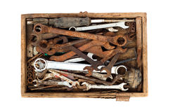 Old toolbox Stock Images