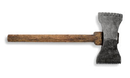 Old tools. In front of a white background royalty free stock photos