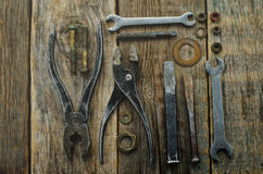 Old tools Stock Image