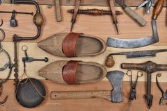 Old tools three Royalty Free Stock Photo