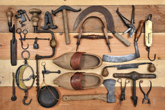 Old Tools Two Stock Photography
