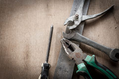 Old tools Royalty Free Stock Images