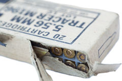 Rifle Cartridges Pack Stock Photography