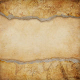 Old torn map background Stock Photos