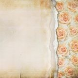 Old Torn Paper Background Royalty Free Stock Images