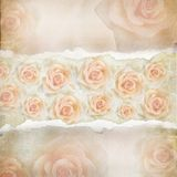 Old Torn Paper Background. Texture Royalty Free Stock Photos
