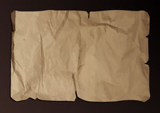 Old torn paper. Royalty Free Stock Photography