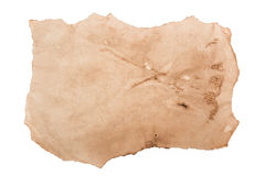 Old torn paper texture Stock Photography