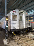 Old Toronto Transit Subway Car Royalty Free Stock Photo
