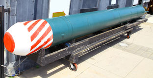 Old Torpedo Royalty Free Stock Photography