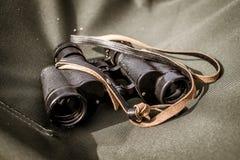 Old tourist binoculars Royalty Free Stock Photos
