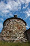 Old tower. Tower of Solovetskiy Monastery, Russia Royalty Free Stock Image