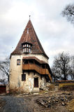 Old tower. An old tower in the old citadel of Sighisoara, in Transylvania. The only citadel still inhabitated Stock Image