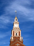 Old Tower. Clock tower in Providence, Rhode Island Royalty Free Stock Photography