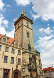 Old Tower with Astronomical Clock, Prague, Czech Republic Royalty Free Stock Image