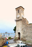 Old tower in Cannes,France Stock Photos