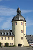 Old tower in the city of Siegen Royalty Free Stock Photo