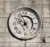 Old tower clock Stock Images