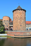 Old tower in Gdansk Stock Images