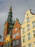 City hall in Gdansk old city Royalty Free Stock Photo