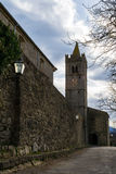 Old Tower in Hum, Istria Royalty Free Stock Photography