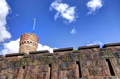 Old Tower i Sweden Royalty Free Stock Image