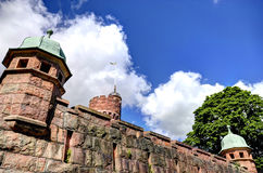 Old Tower i Sweden Royalty Free Stock Photos