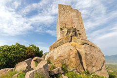 The old tower of the island Royalty Free Stock Photography