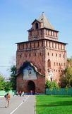 Old tower. Kremlin in Kolomna, Russia. Stock Photo