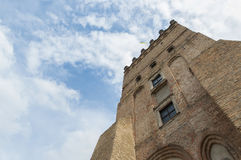 Old tower. Lutsk High Castle Royalty Free Stock Photo