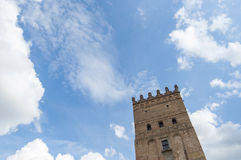 Old tower. Lutsk High Castle Royalty Free Stock Images
