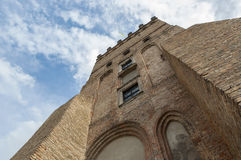 Old tower. Lutsk High Castle Stock Photo