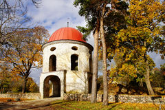 Old  tower of manor. Estonia. Sutlema Royalty Free Stock Photography