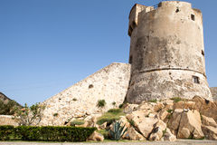 Old Tower In Marciana Marina Royalty Free Stock Photo