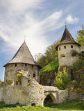 Old Tower of medieval castle Stock Images
