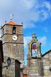 Old tower of Monsanto village. Old tower of Monsanto old village at Portugal Royalty Free Stock Images