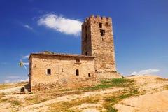 Old tower, Nea Fokea, Halkidiki Royalty Free Stock Image